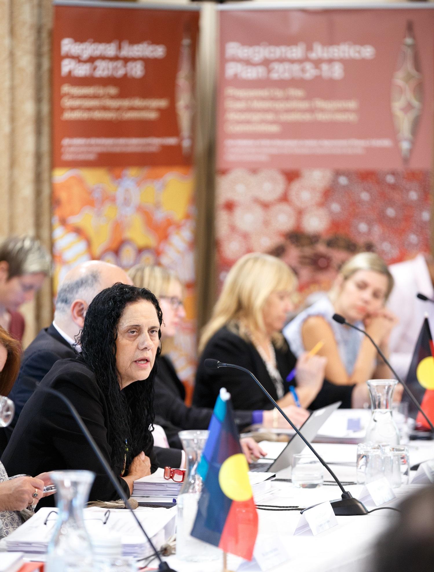 Image of AJF member Muriel Bamblett