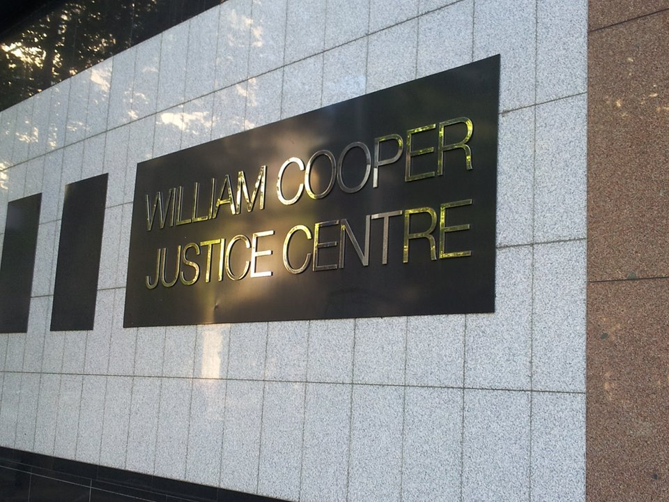 Image of the William Cooper Justice Centre in Melbourne's legal district is named in honour of Yorta Yorta leader, William Cooper.